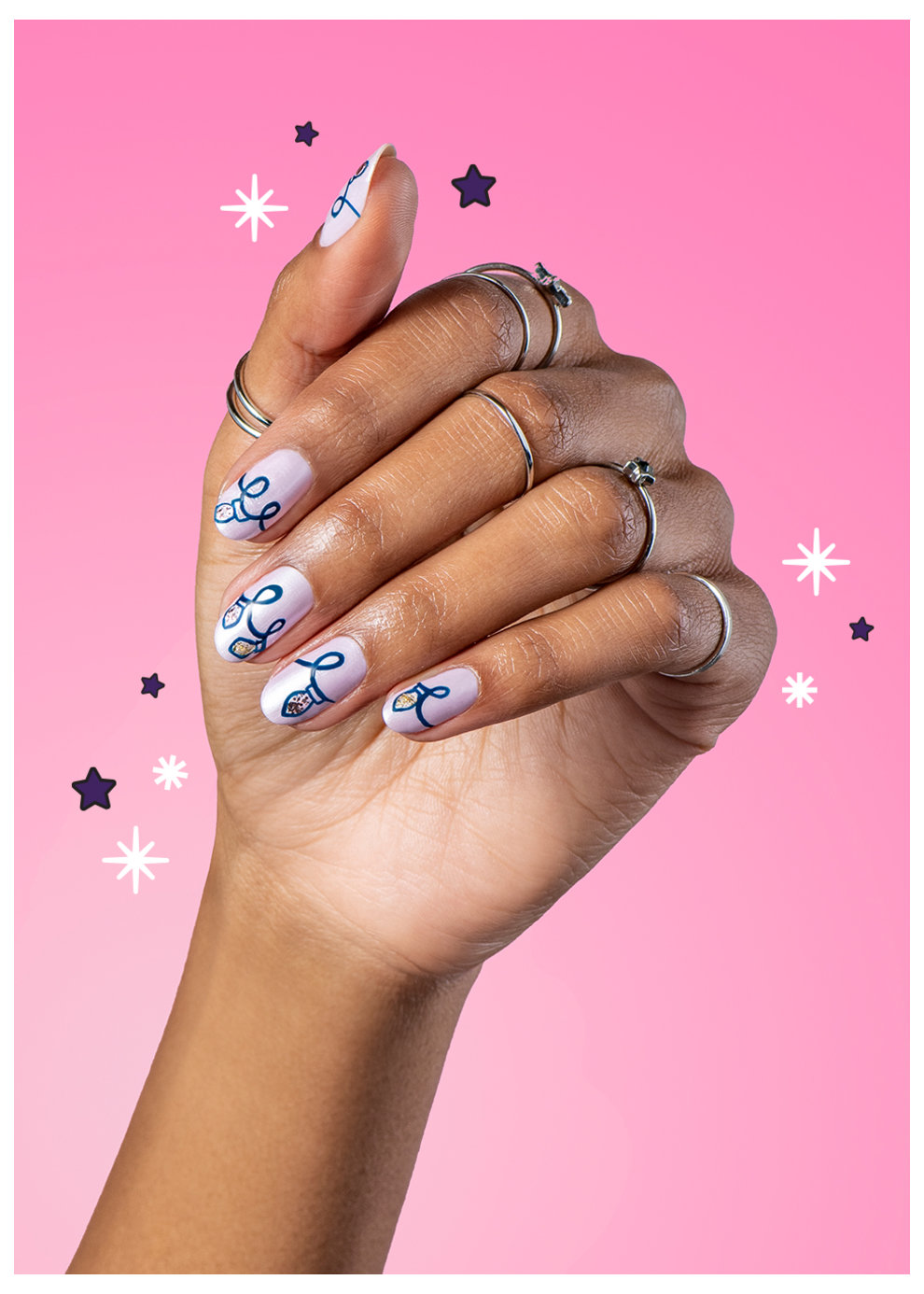 OPI x Hello Kitty Nail Art Shine Bright