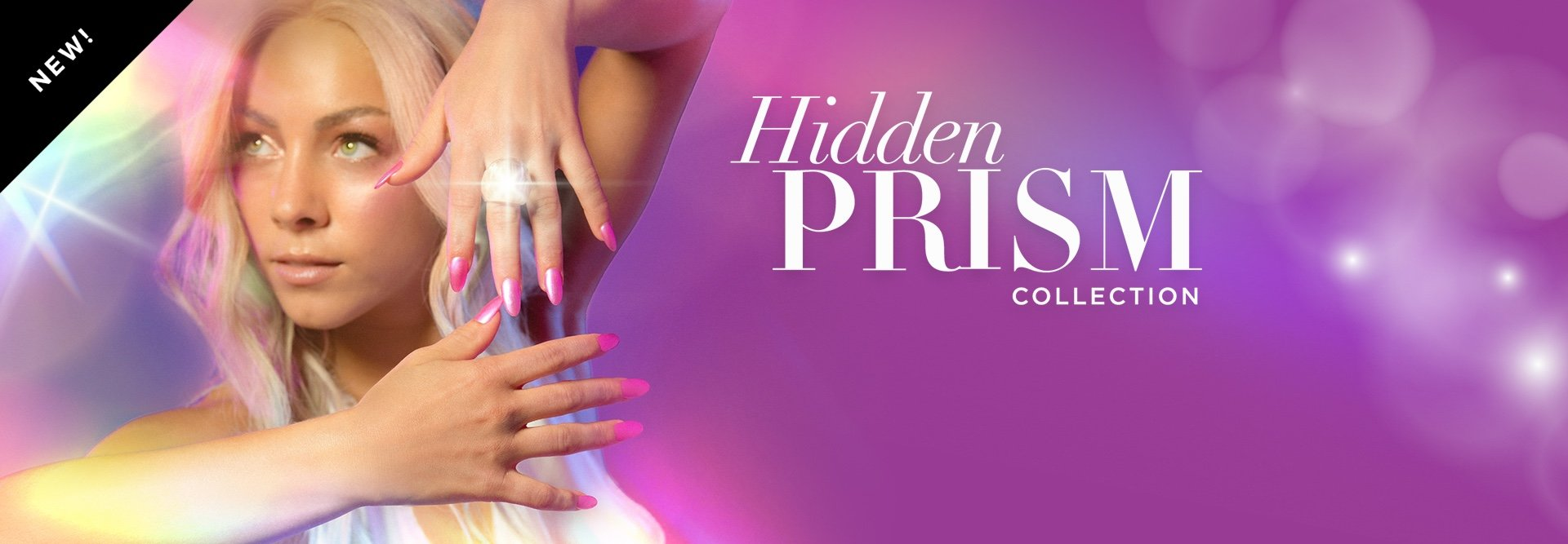Shine on with #OPIPrism Nail Polish Collection