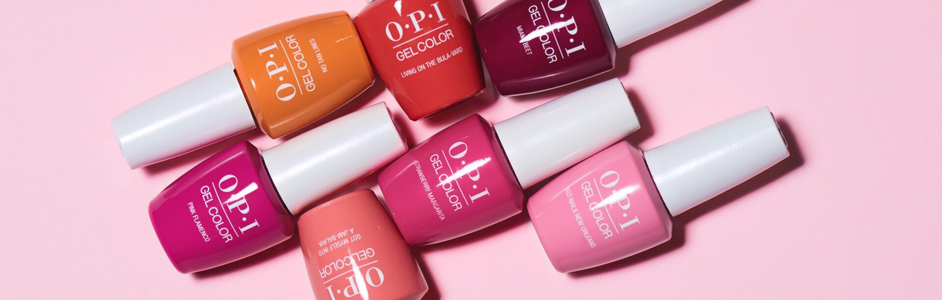 Browse the shades available in OPI GelColor
