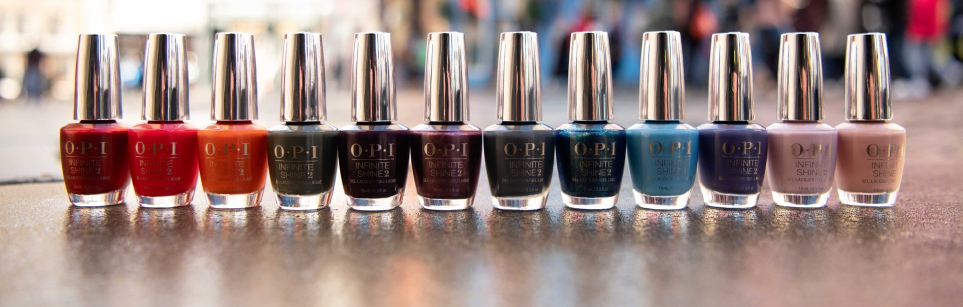 Browse the shades available in OPI Infinite Shine