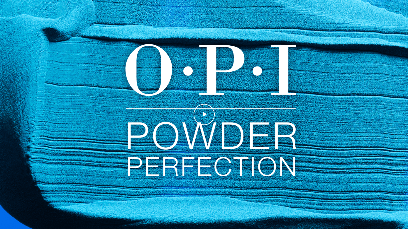 OPI Powder Perfection system video