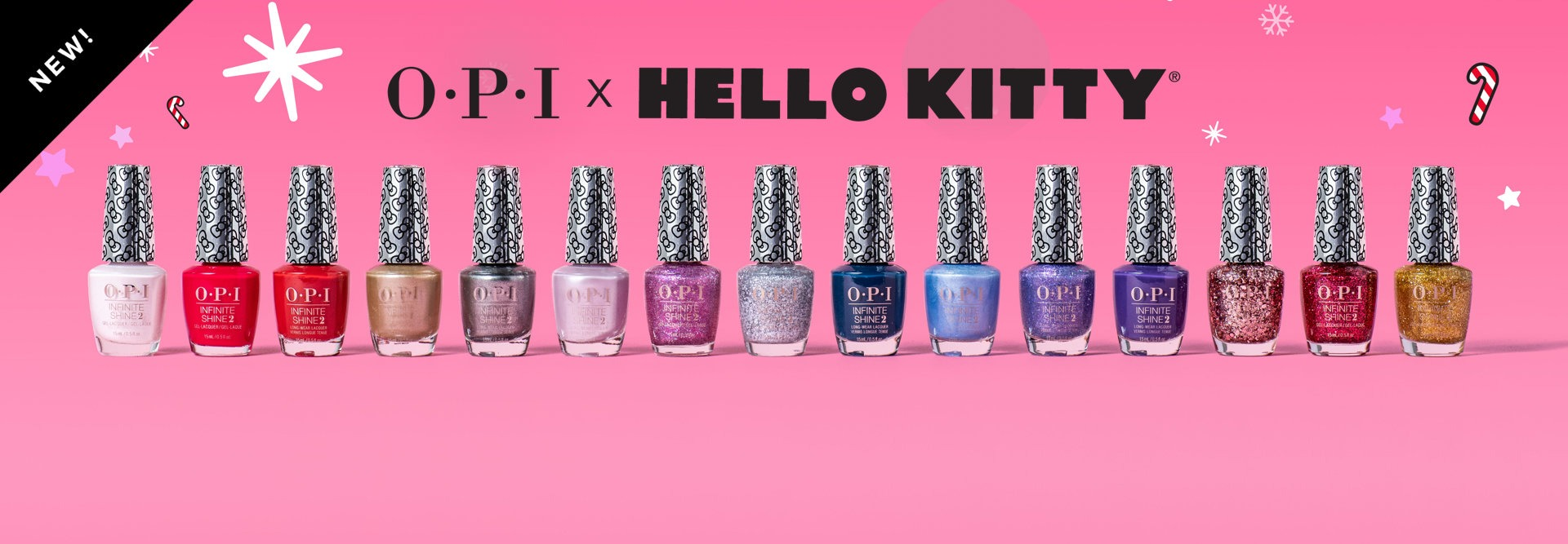 Shop the OPI x Hello Kitty Collection