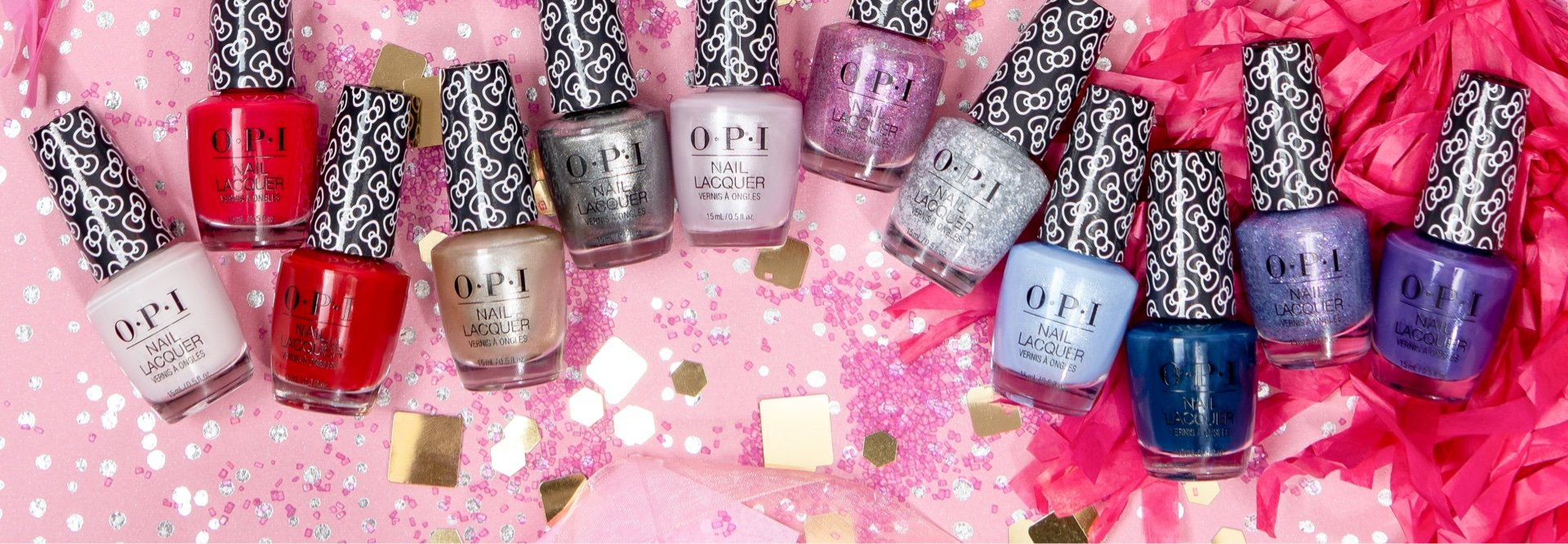 Shop the OPI Hello Kitty Collection