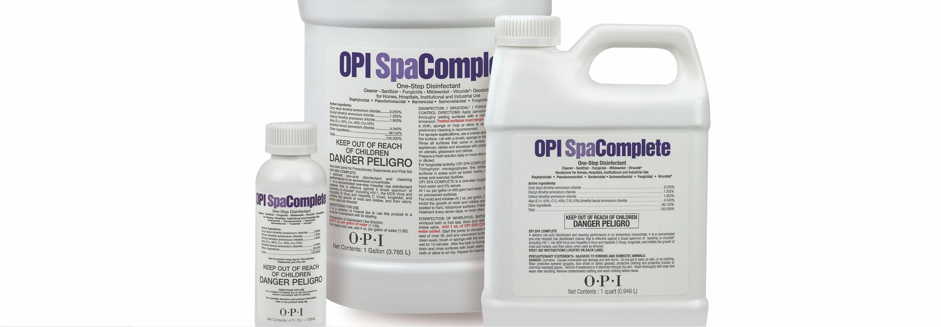 Professional Nail Salon Cleaning Products