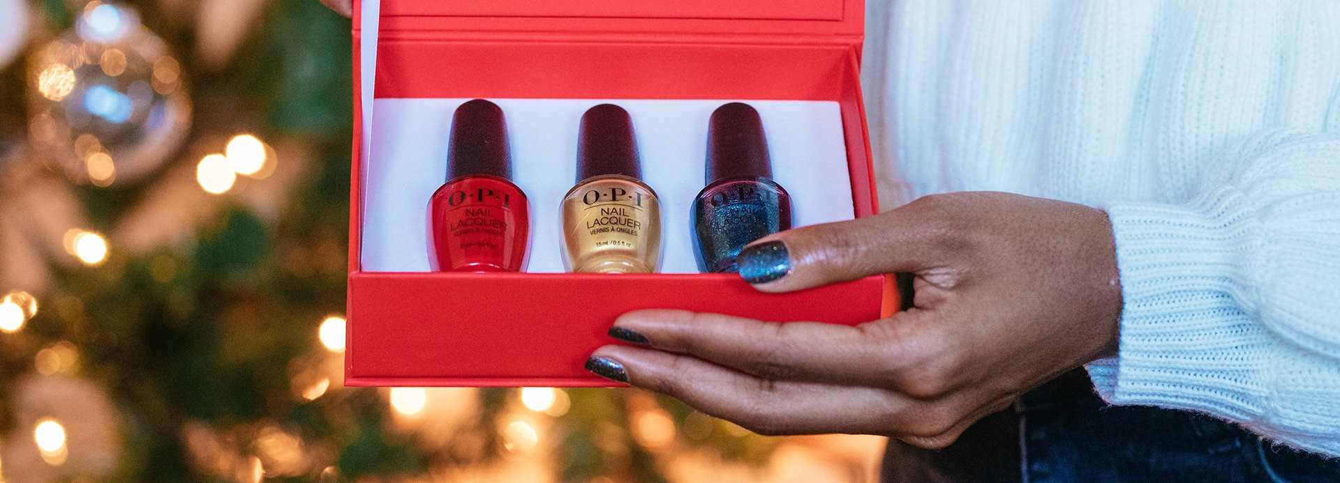 Find the perfect gift with customized gift sets from OPI