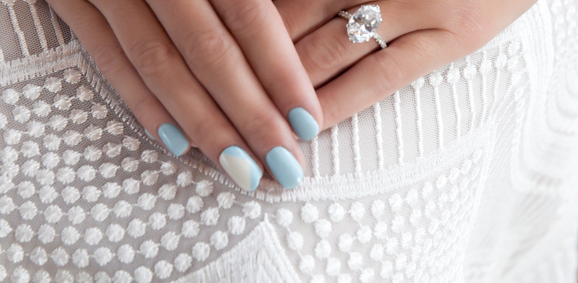 Bridal wedding nail polish shades
