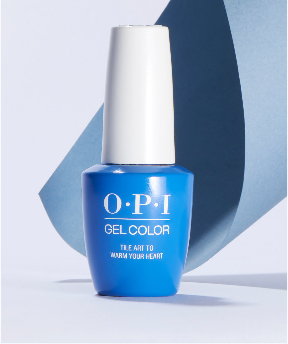OPI shades in gel nail polish