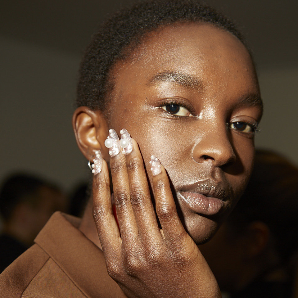 NYFW 2019: OPI x Adeam Nail Art by Mei Kawajiri