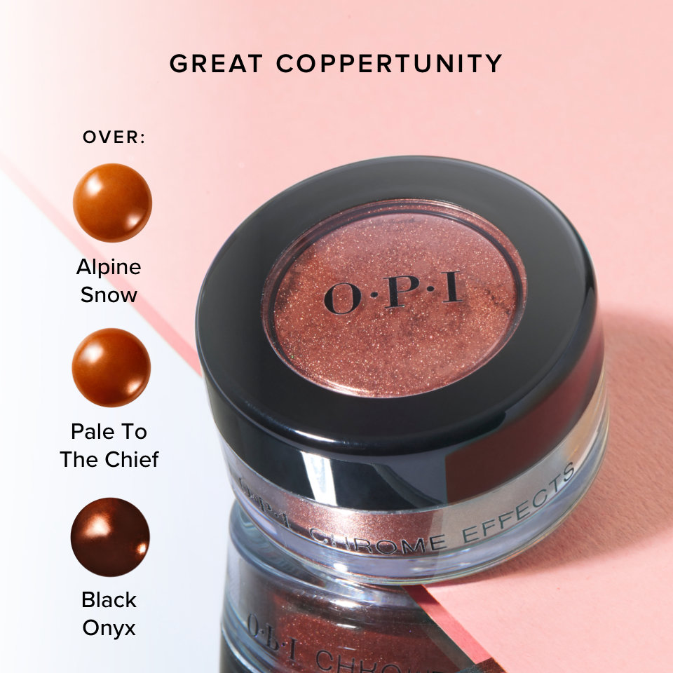 OPI Chrome Effect Powder Great Coppertunity product attribute
