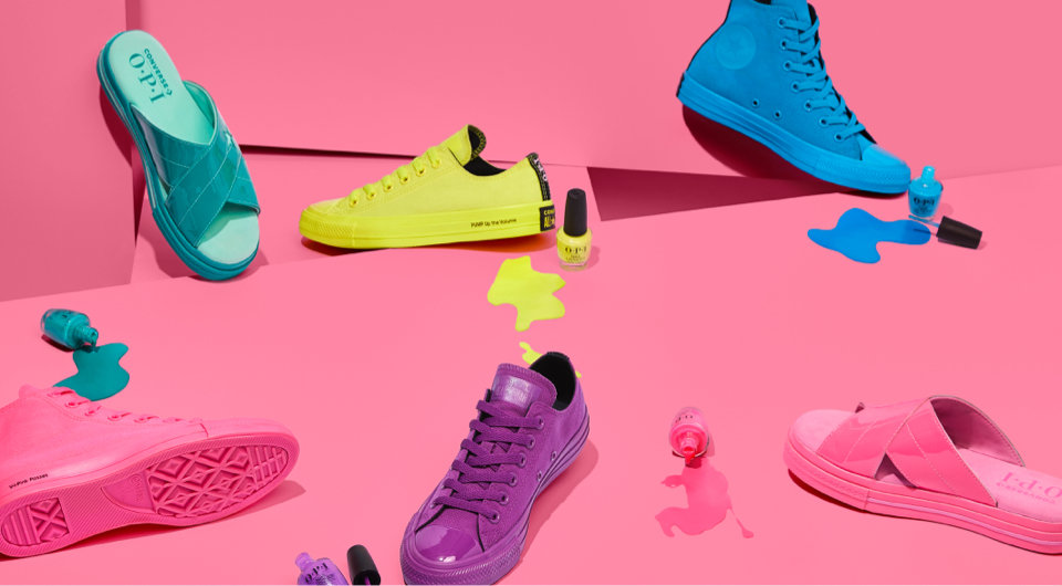 We've partnered with Converse for the ultimate neon collab