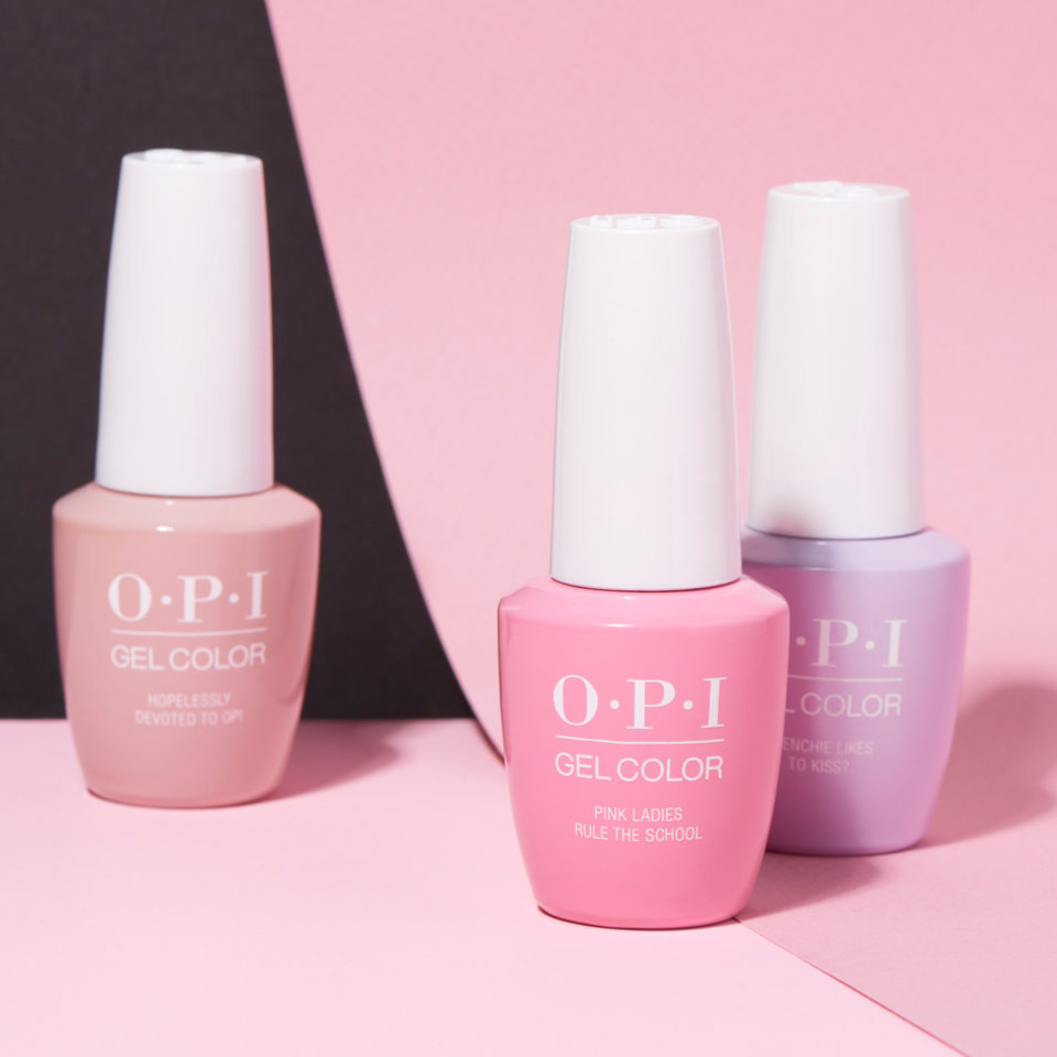 OPI GelColor gel nail polish professional system