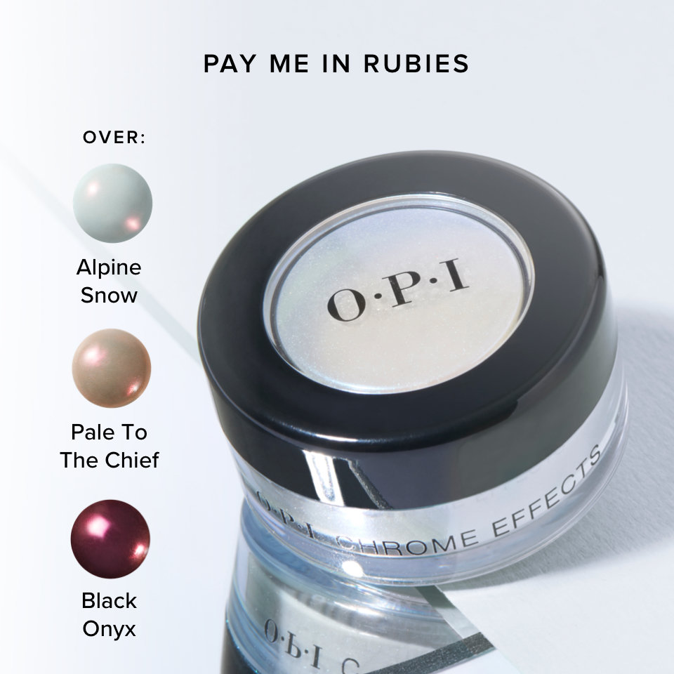 OPI Chrome Effects Pay Me In Rubies product attributes