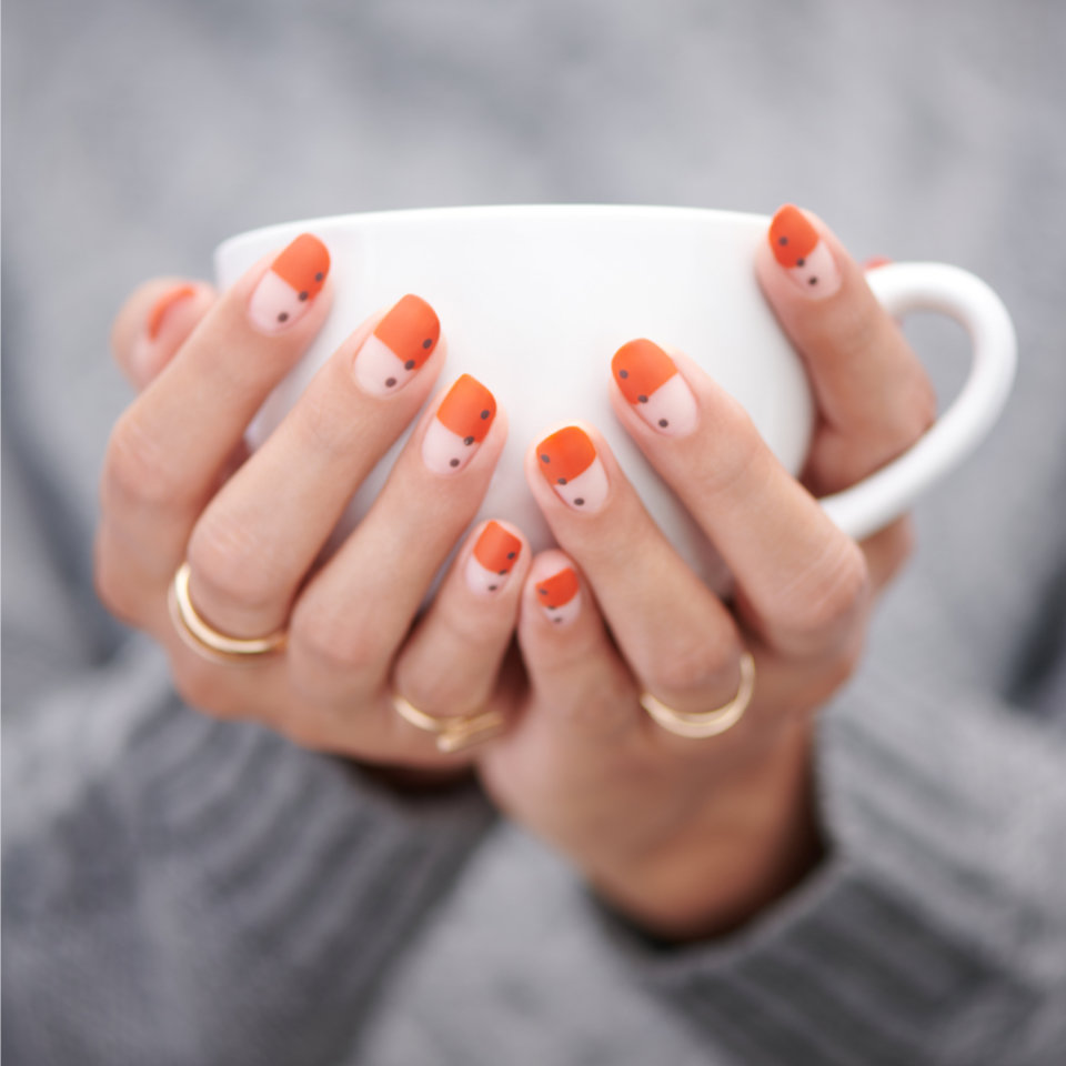 Sweater Weather Nail Art for Fall
