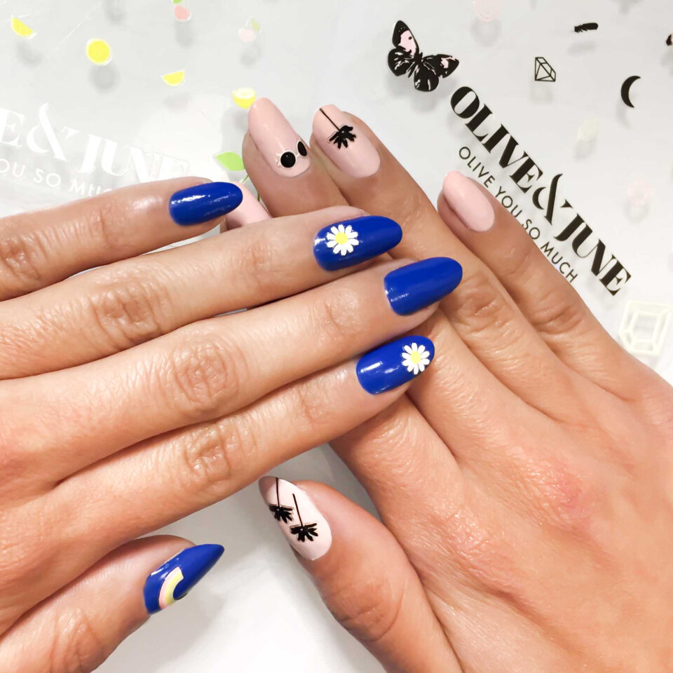 real nail manicure