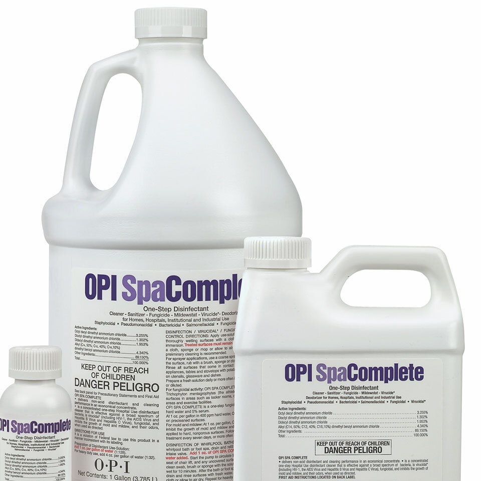 Salon Sanitation products by OPI