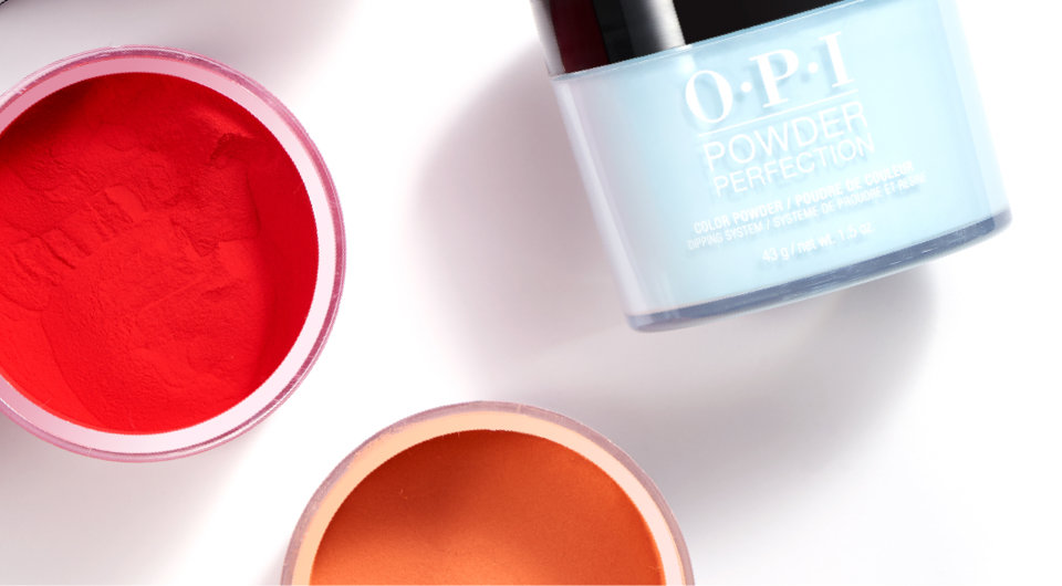 OPI Powder Perfection 100 shades to choose from