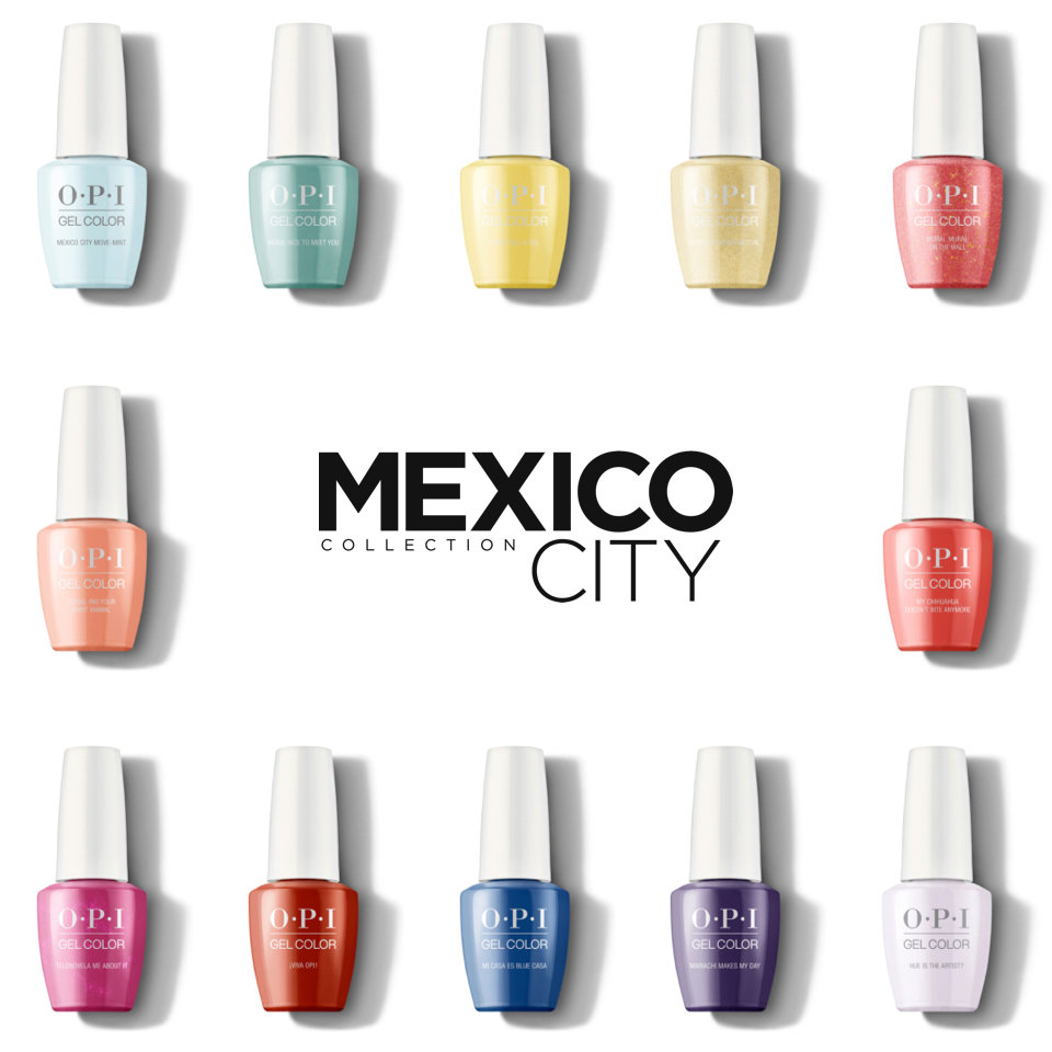 About the OPI Mexico City Collection