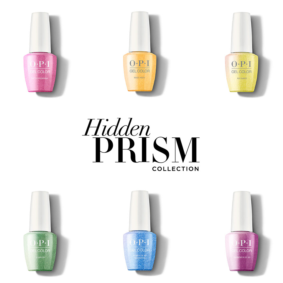 About OPI Hidden Prism Collection