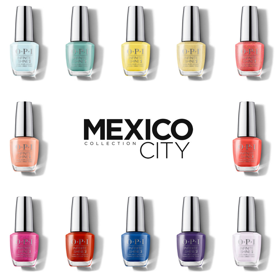 OPI Mexico City Collection Long Lasting Polish