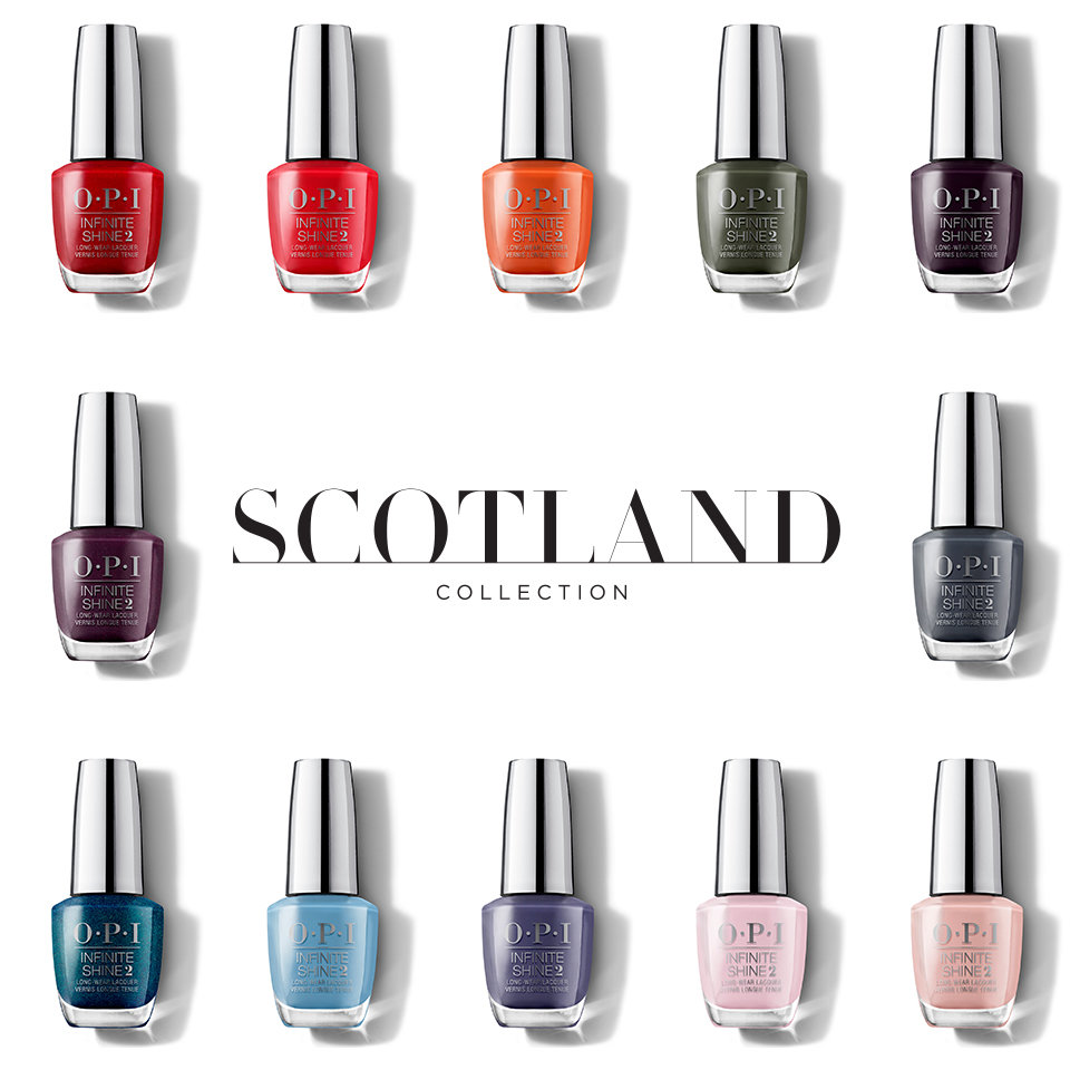 OPI Scotland Collection Infinite Shine
