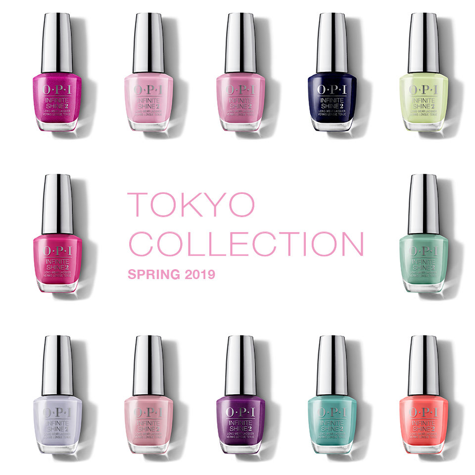 OPI Tokyo Collection About the Collection