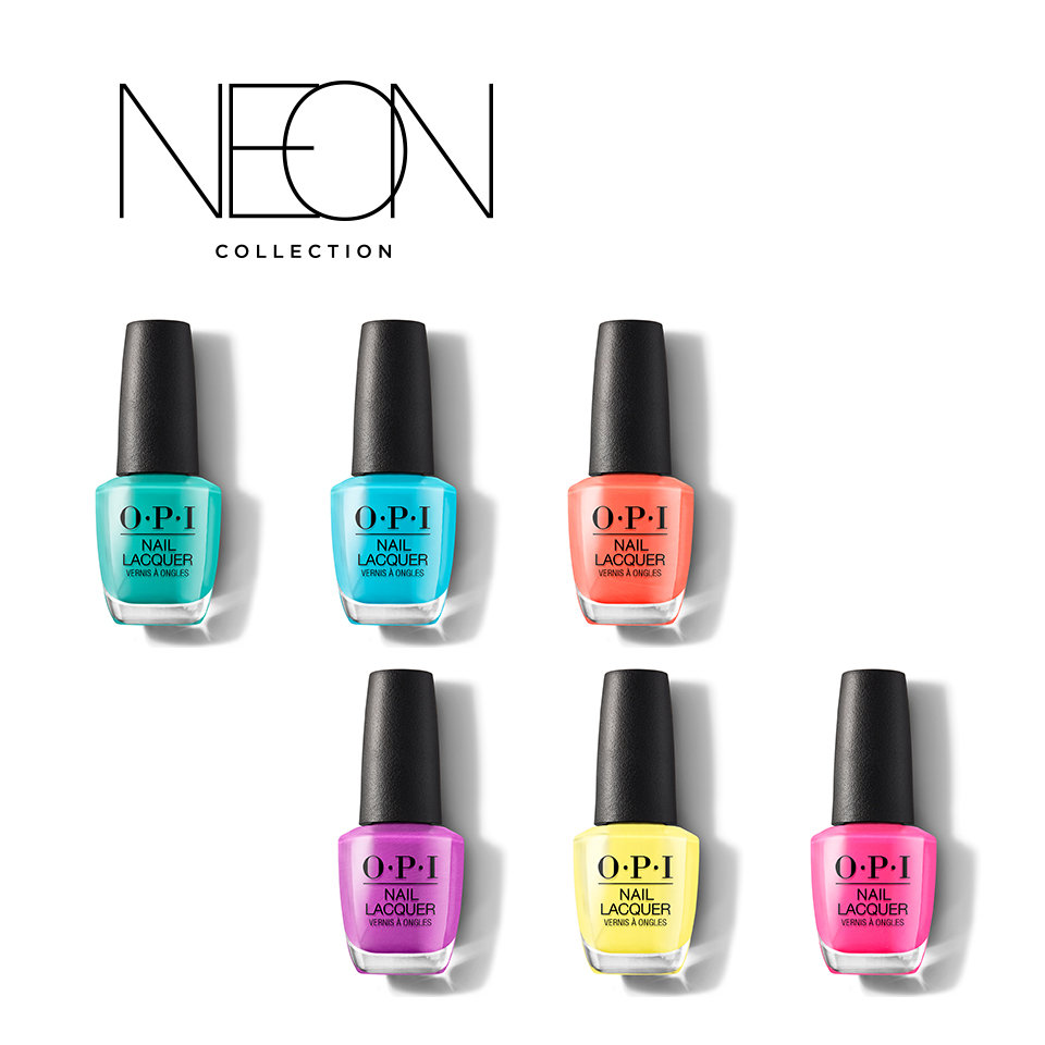 OPI Neons Collection