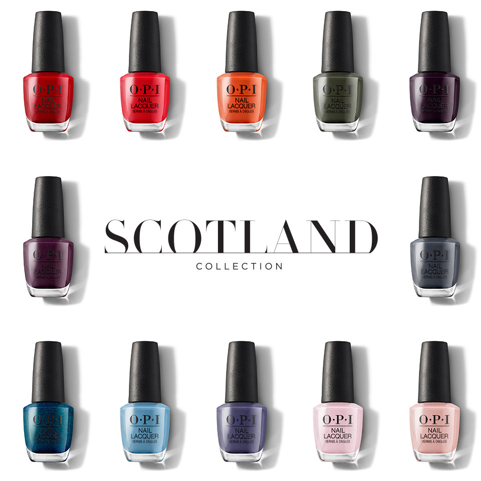 OPI Scotland Collection Nail Lacquer