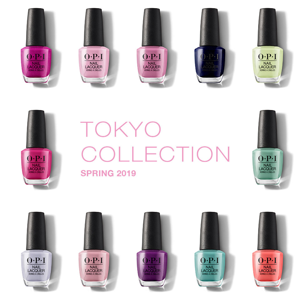 About the OPI Tokyo Collection
