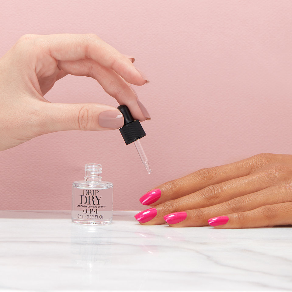 your manicure doesn't need to wait