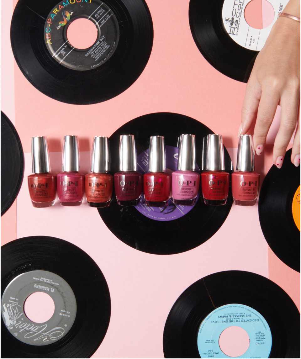 OPI Fan Faves Top Songs for Our Top Colors
