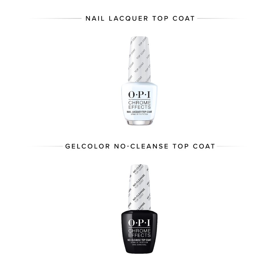 OPI Chrome Effects Top Coats