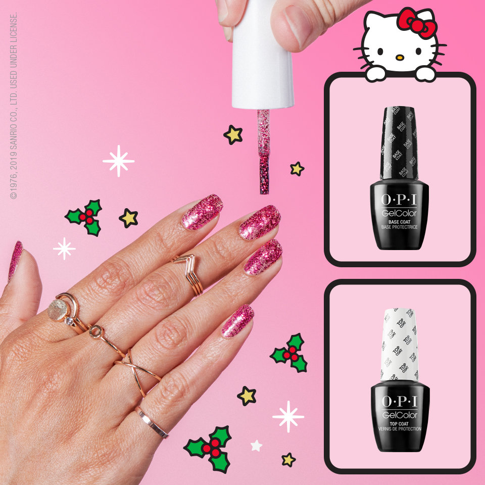 Get High Shine with OPI Gel Color Top Coats