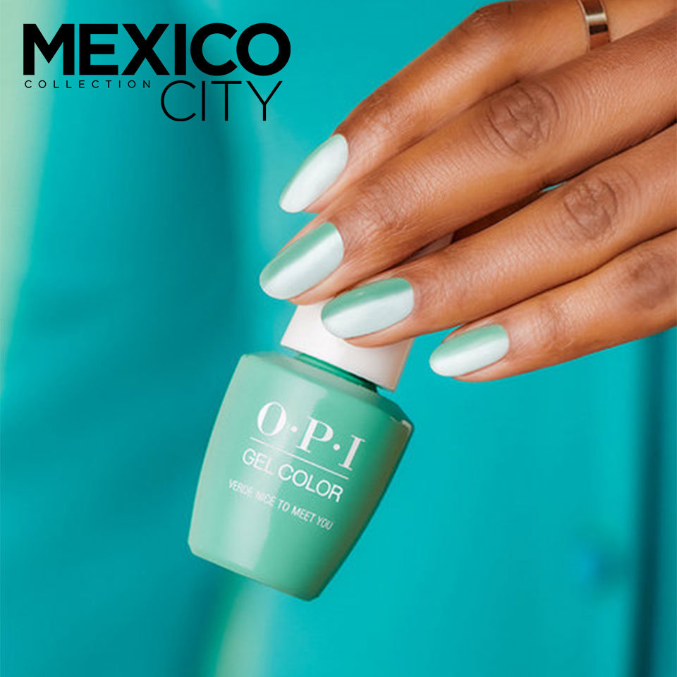 OPI Mexico City Nail Art Dos Is Better Than One