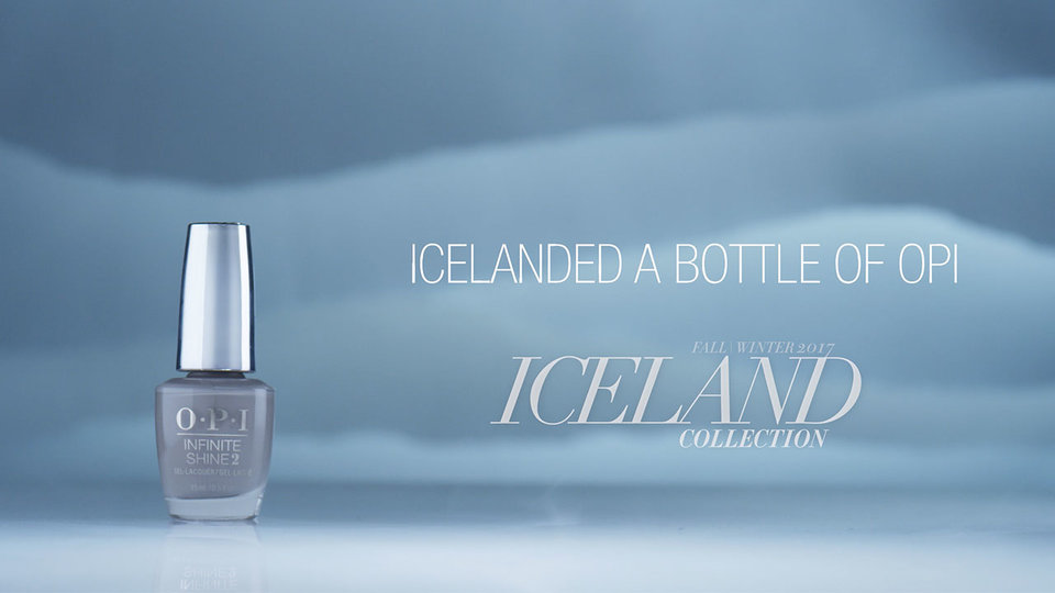 OPI Iceland Shade Story | Icelanded a Bottle of OPI