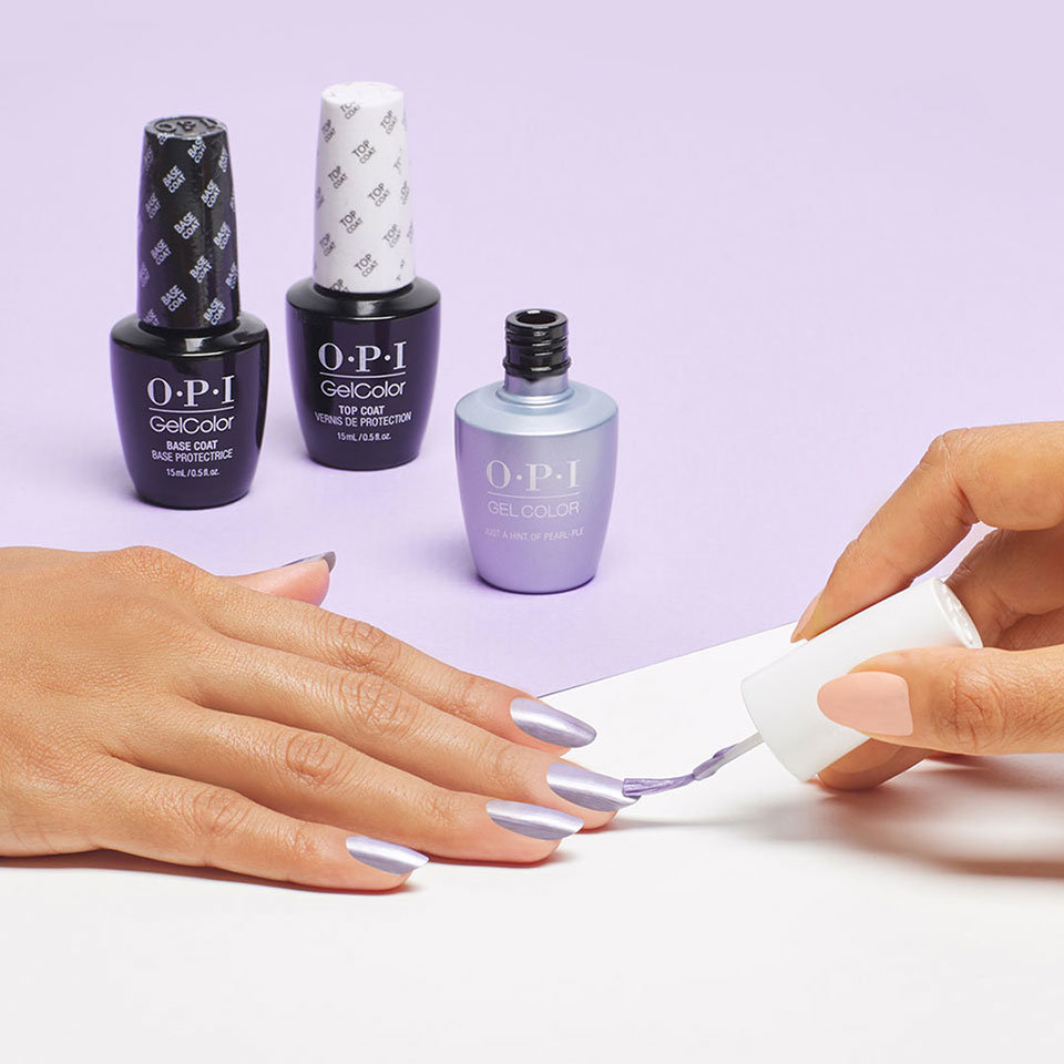 OPI GelColor Just a Hint of Pearl-ple