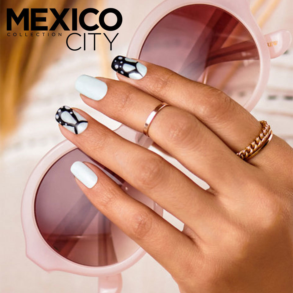 OPI Mexico City Nail Art La Sofia