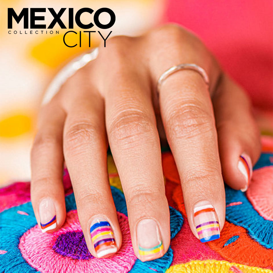 OPI Mexico City Nail Art La Victoria