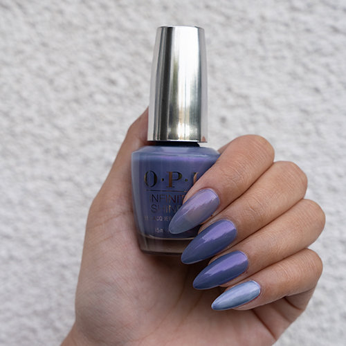 How to layer OPI Neo-Pearl Collection over Alpine Snow