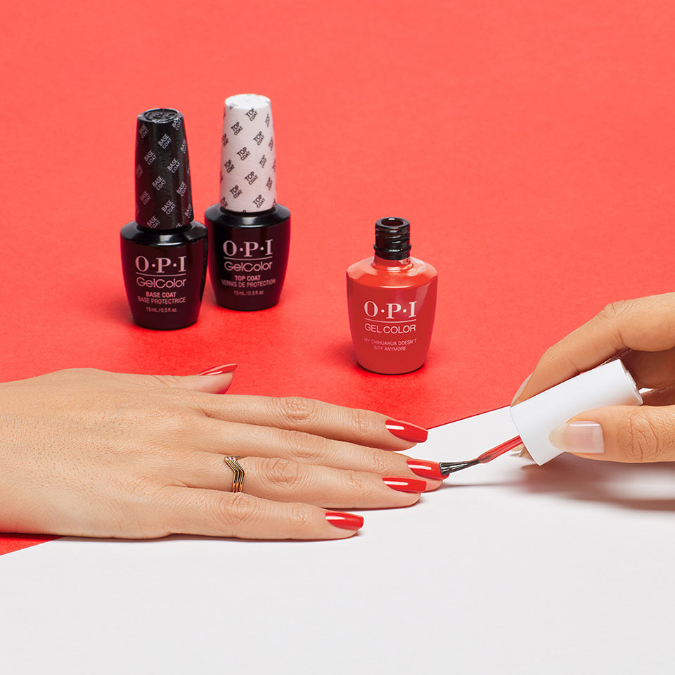 OPI Gel Color Top Coats for High Shine