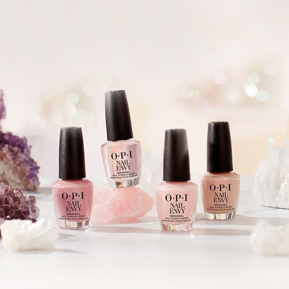 The OPI Nail Envy Colors Lineup: Ideal for Weak, Damaged Nails