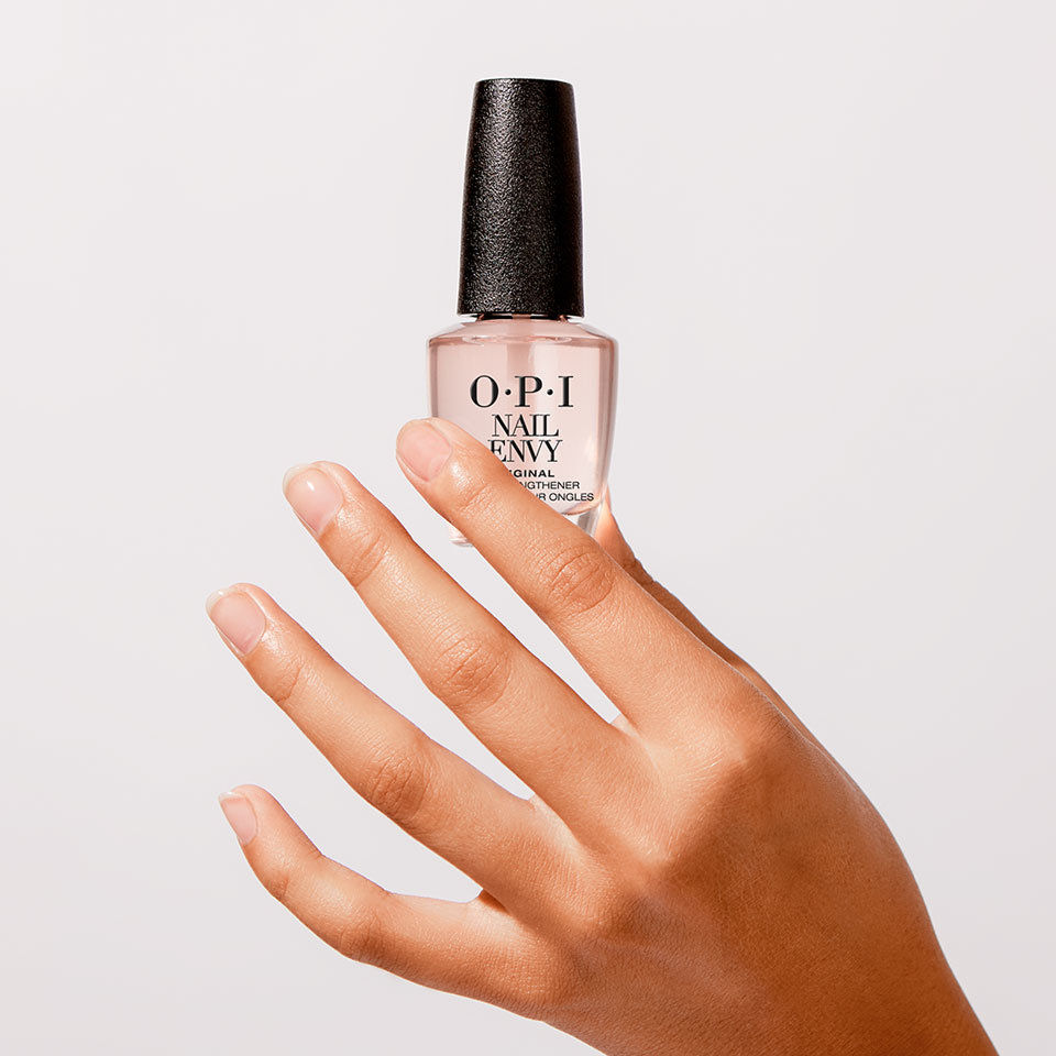 Get Strength & Color with OPI Nail Envy Pink to Envy