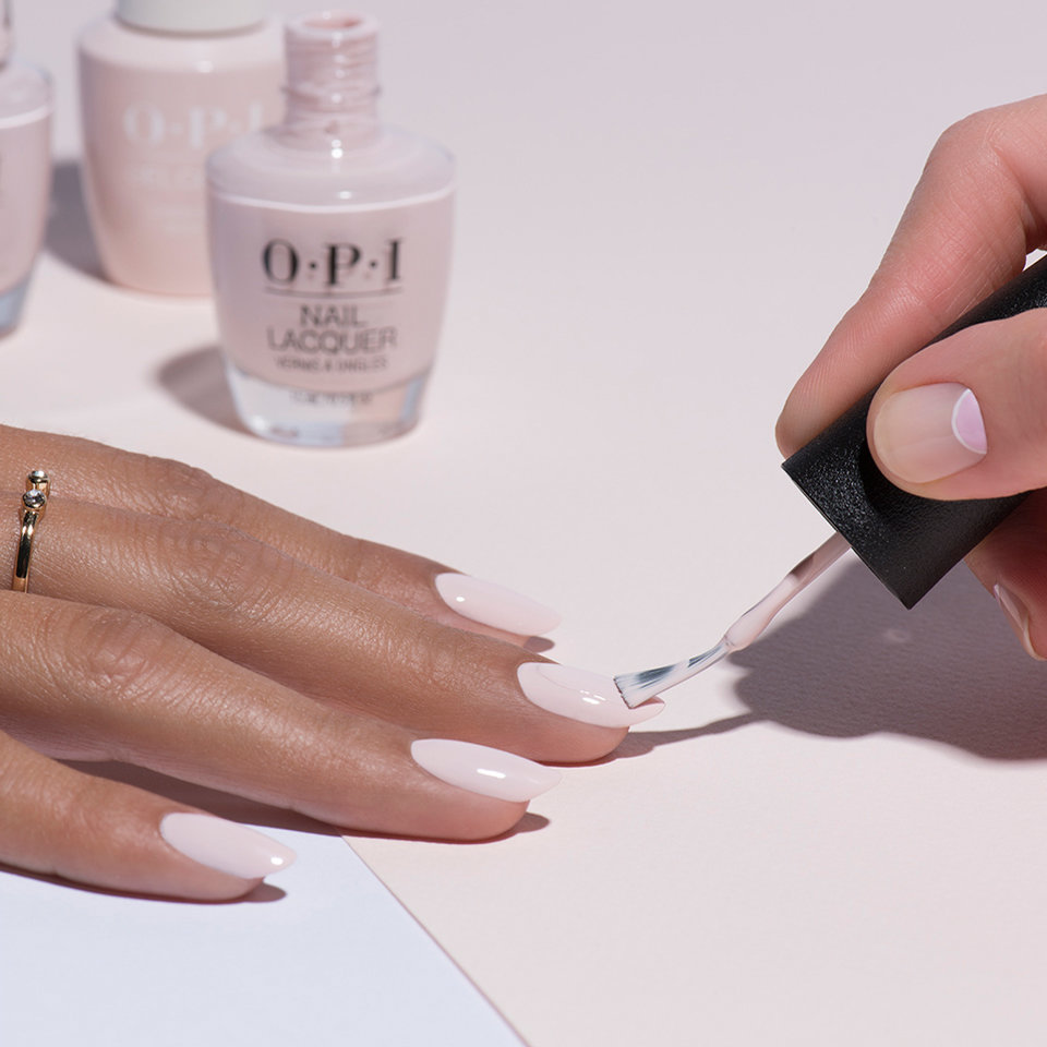 OPI Nail Lacquer Application