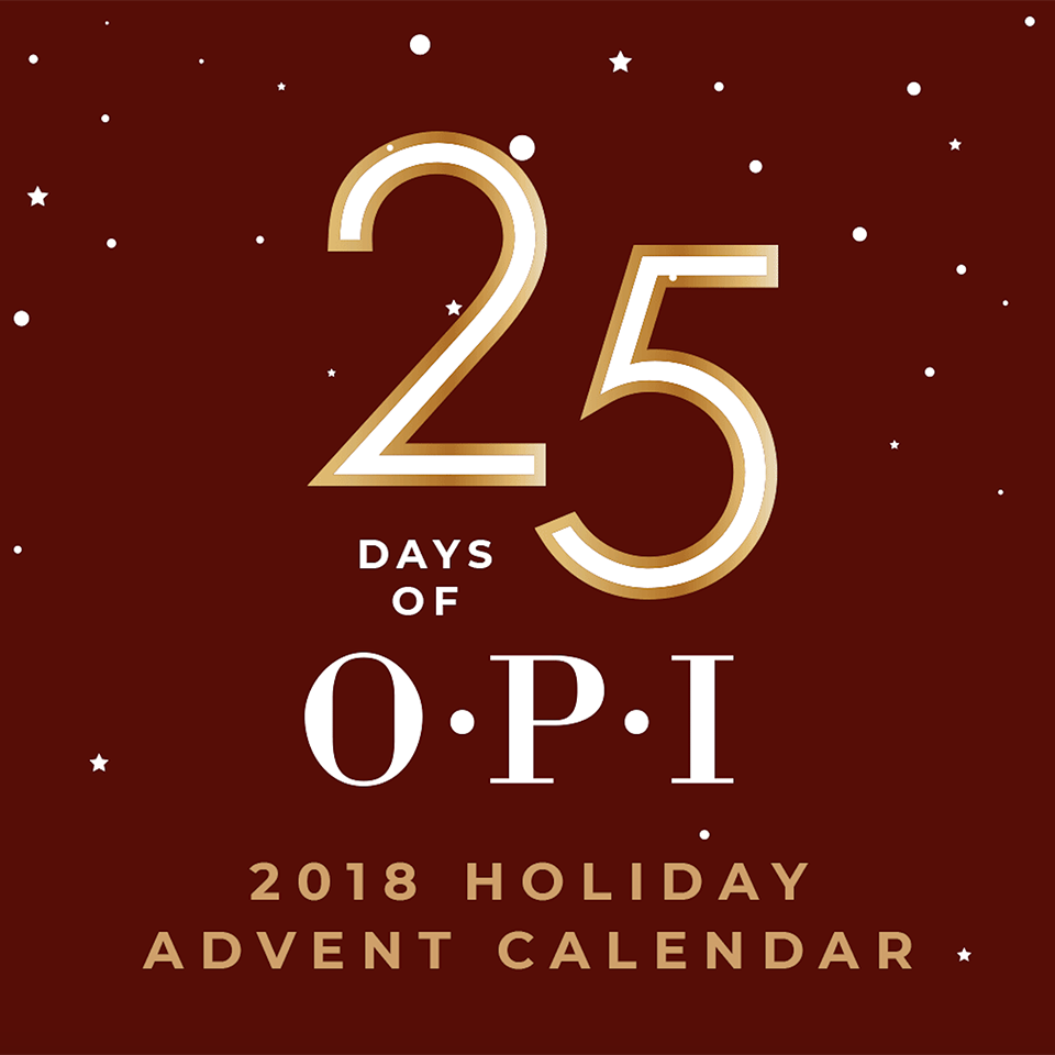 OPI Advent Calendar 2018