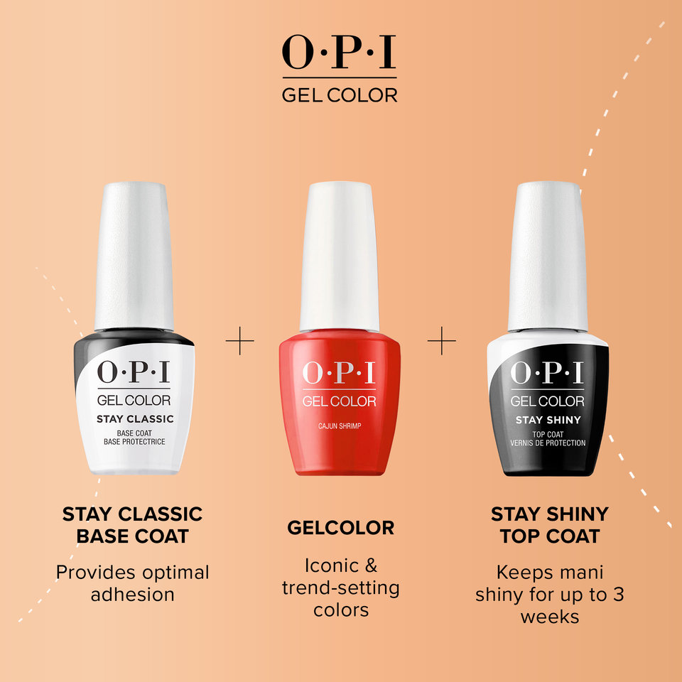 The New OPI GelColor Lineup