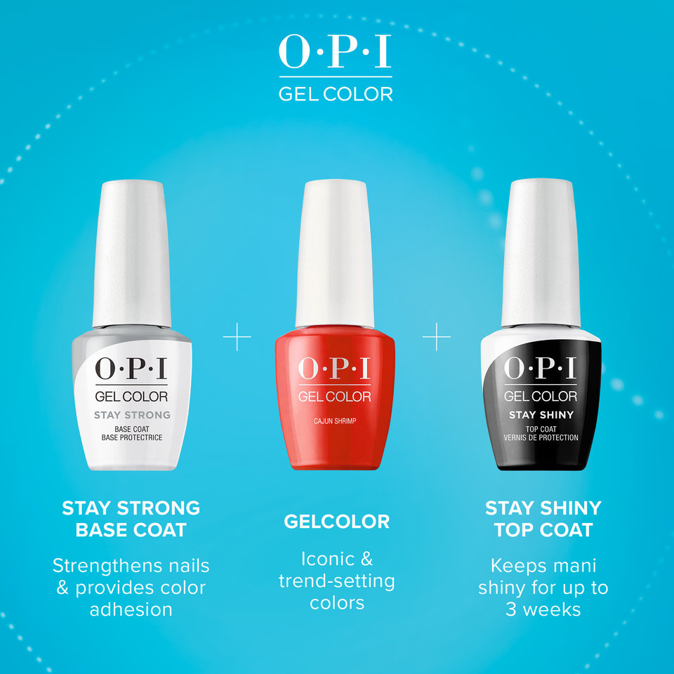 OPI GelColor Stay Strong System