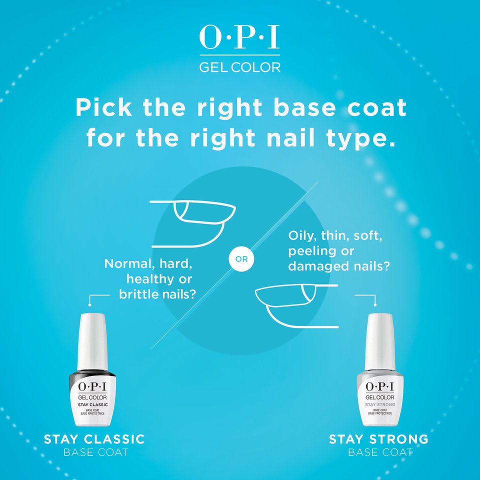 OPI GelColor Stay Strong vs. Stay Classic