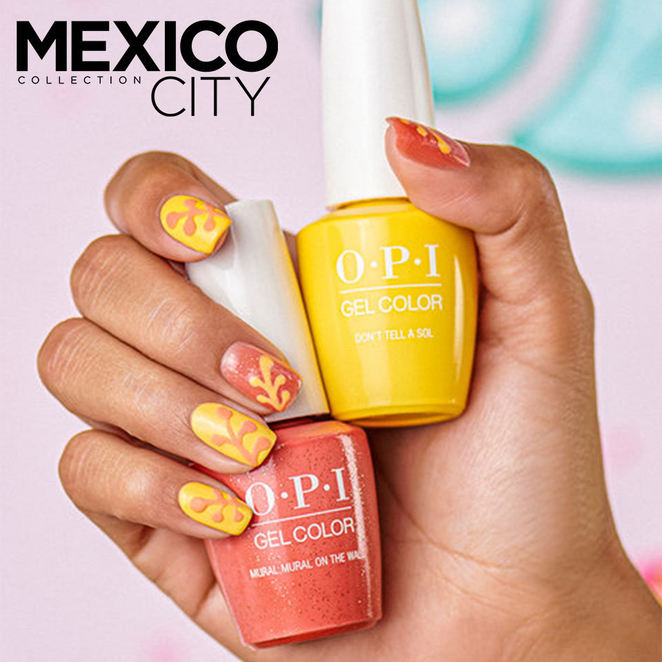 OPI Mexico City Nail Art Urban Jungle