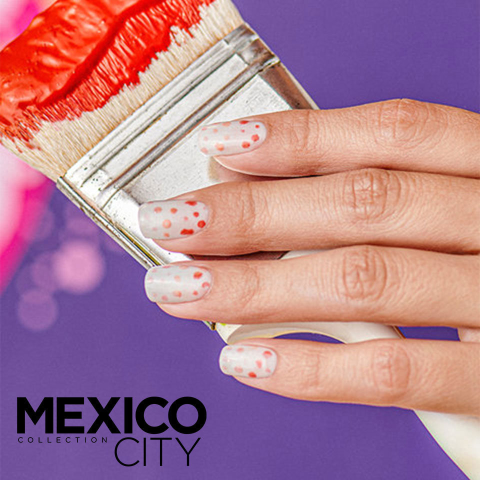 OPI Mexico City Collection Nail Art