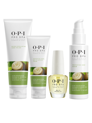 OPI ProSpa manicure skincare products kit for hands