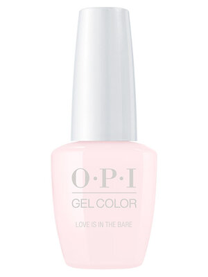 OPI GelColor Love is in the Bare Nail polish bottle
